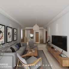 精美复式客厅日式装修实景图片
