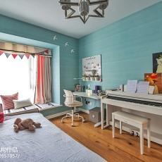 精选96平米三居儿童房现代装修图片欣赏
