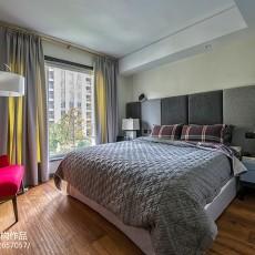 精选98平米三居卧室现代装修欣赏图片
