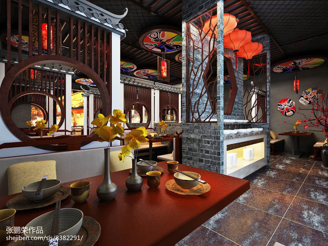 餐厅装饰画效果图片欣赏