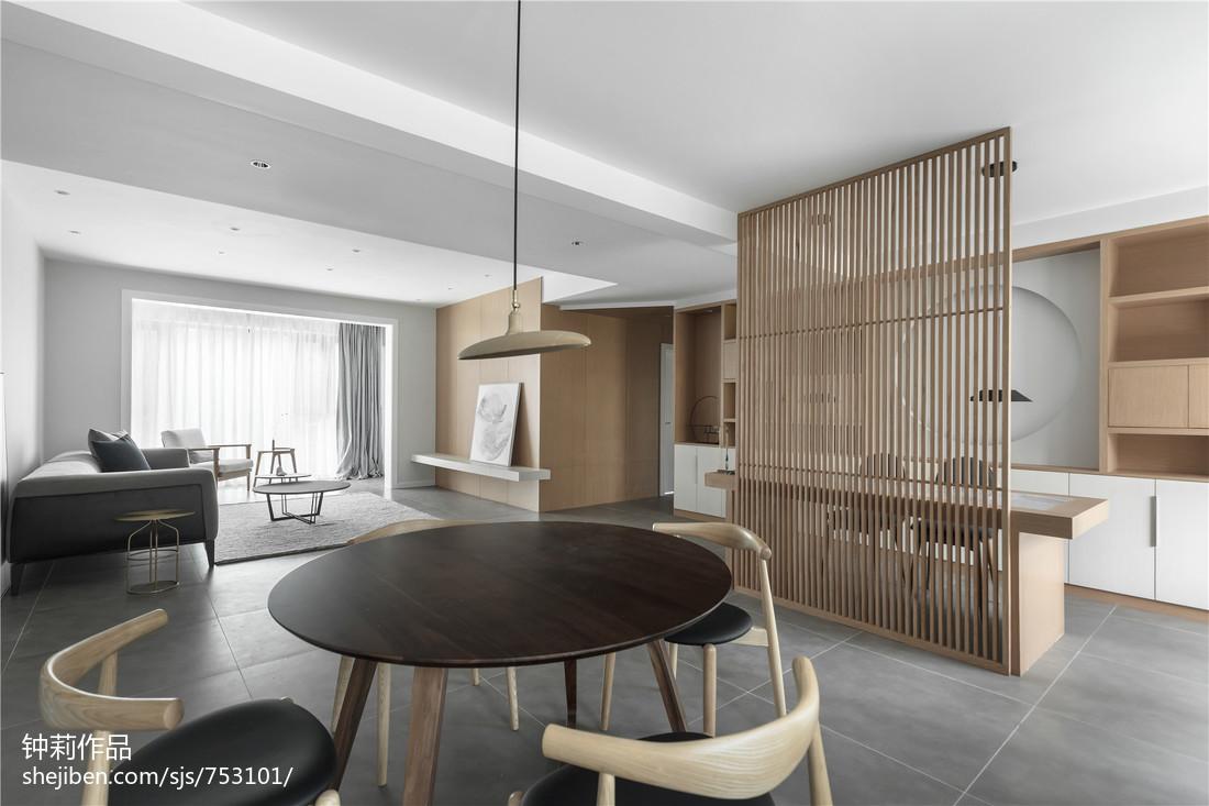 热门简约三居餐厅装修设计效果图片欣赏