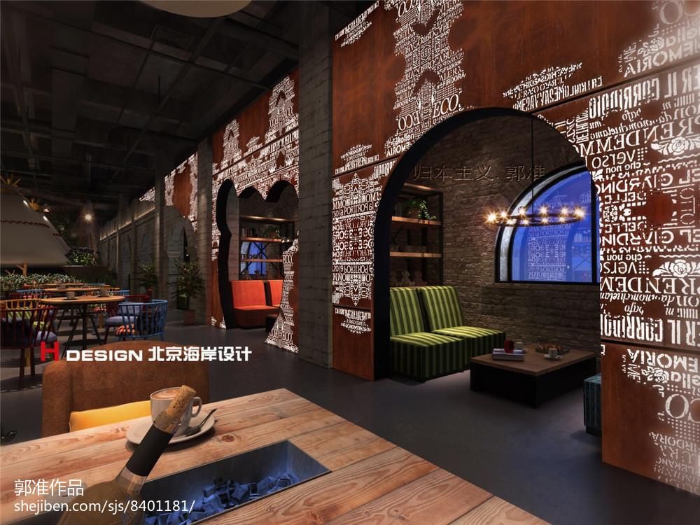 时尚现代欧式餐厅设计