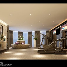 精选126平方欧式别墅休闲区装修欣赏图片