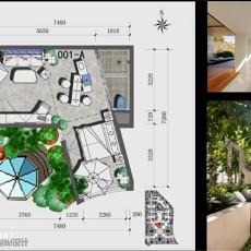 现代风格别墅客厅装修图2014