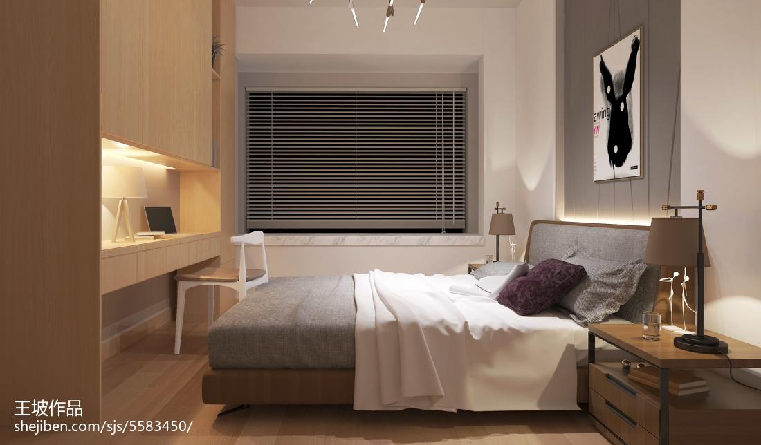 2018精选宜家小户型卧室设计效果图