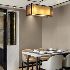 精美面积92平中式三居餐厅欣赏图片