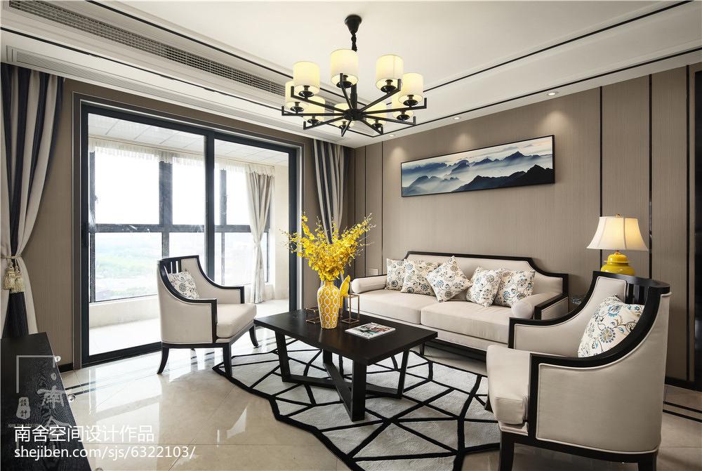 经典中式客厅吊灯设计图