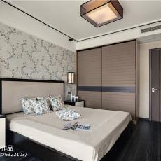 精选面积97平中式三居卧室装修效果图片大全