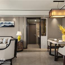 2018大小91平中式三居客厅效果图片