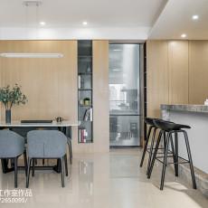 热门94平米三居餐厅现代欣赏图片大全