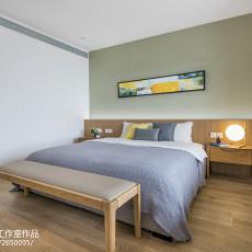 2018102平方三居卧室现代装修图片大全
