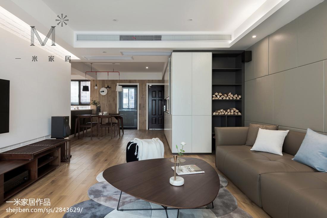 温馨90平现代三居客厅装修图