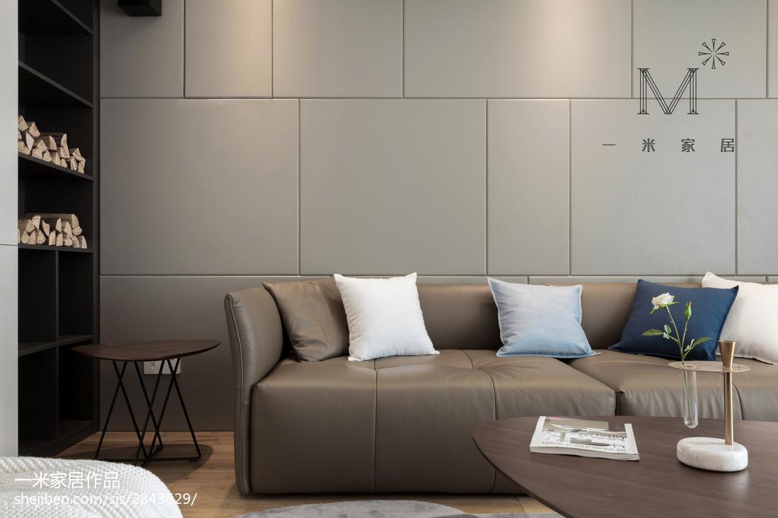 精美79平现代三居客厅装饰图
