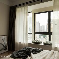 精选大小96平现代三居卧室装修欣赏图片大全