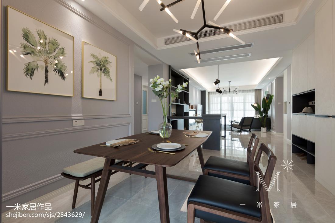 精选123平米四居餐厅简约装修图片