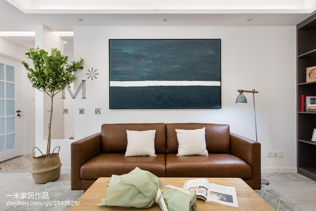 精选100平米三居客厅北欧效果图