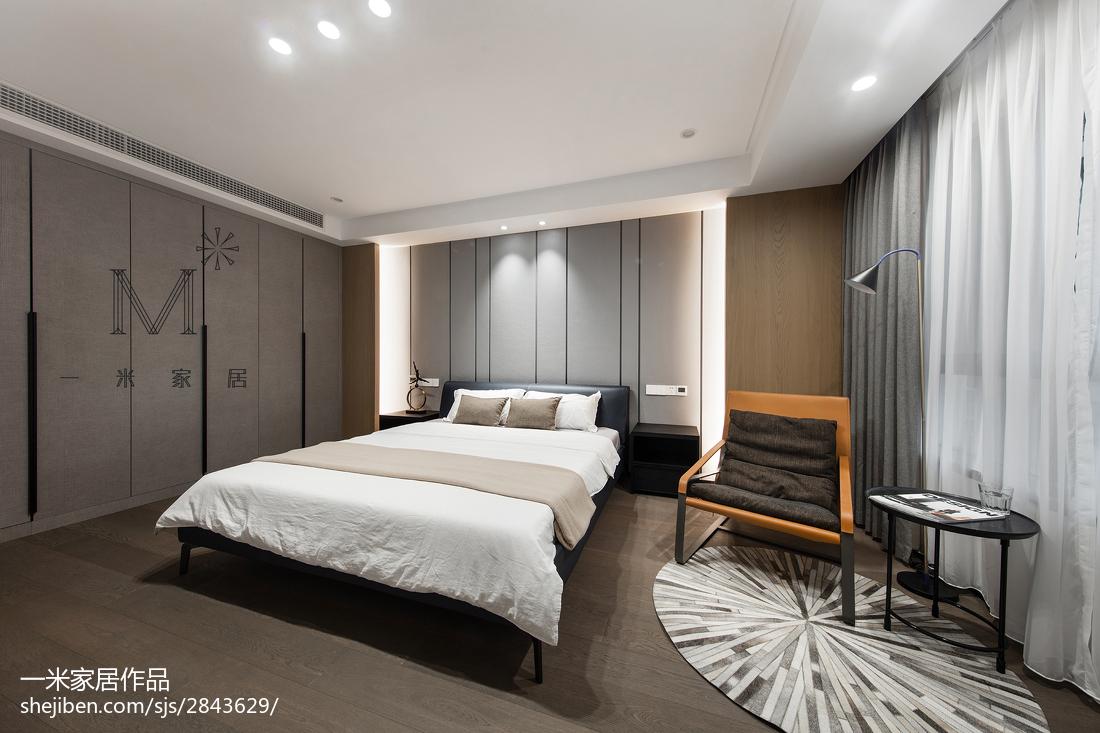 精选122平米四居卧室现代欣赏图片