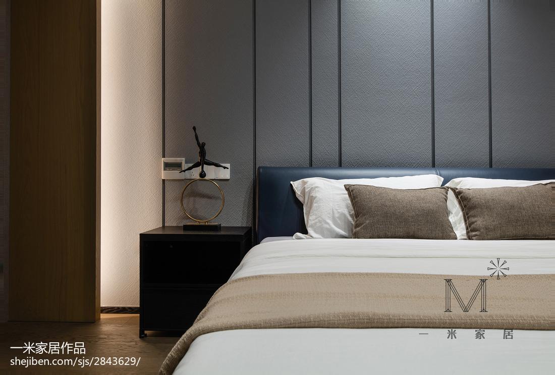 137平米四居卧室现代装饰图片欣赏