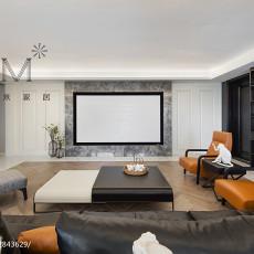 轻奢121平现代四居客厅装修效果图