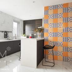 2018现代四居厨房装修图片