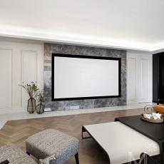 2018大小134平现代四居客厅欣赏图片