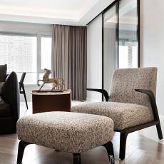 精美111平方四居客厅现代装修效果图片欣赏