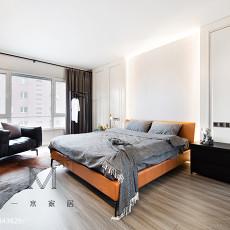 2018四居卧室现代设计效果图