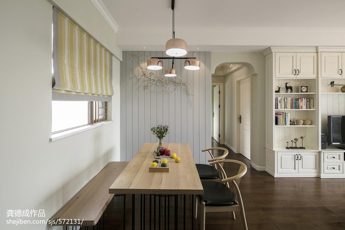 精选71平米二居餐厅北欧装修设计效果图片欣赏