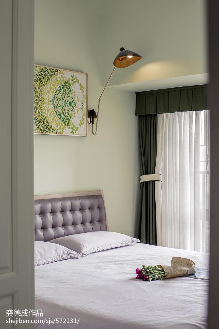 2018北欧二居卧室装修效果图片