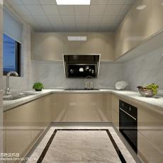 精选现代复式厨房实景图片大全