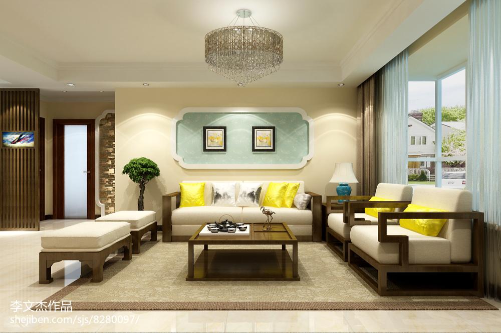 极简主义风格家装电视背景墙设计效果图