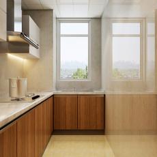 83平米二居厨房美式实景图片大全