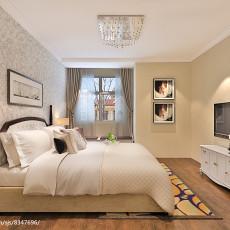 面积93平简约三居卧室装修实景图片大全