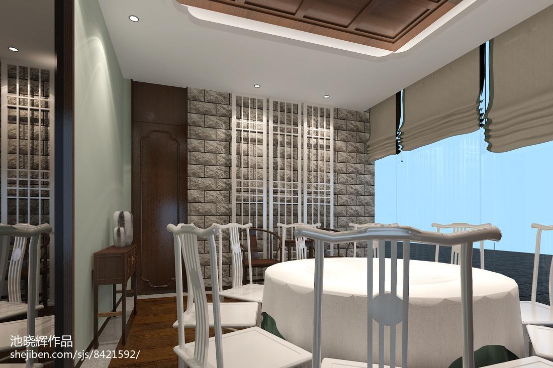 原始中式风格客厅装修效果图
