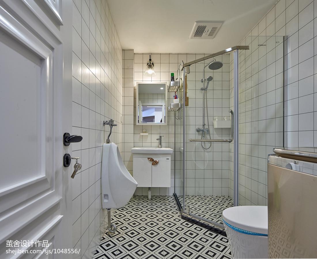精选北欧三居卫生间装饰图片欣赏