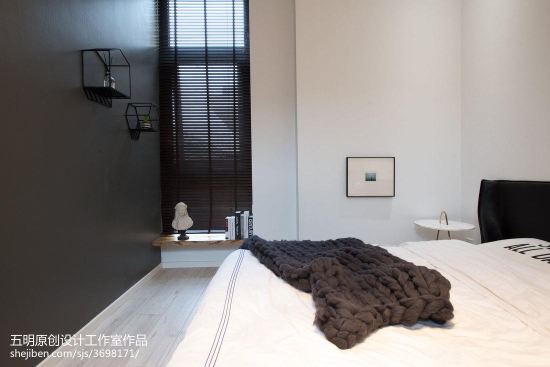 2018精选北欧复式卧室设计效果图