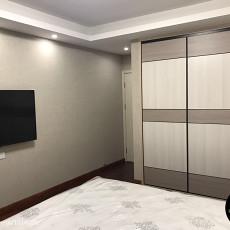 72平方二居卧室现代装修效果图片大全