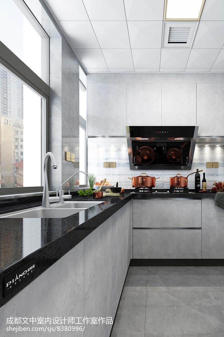 简约家居厨房装饰效果图欣赏