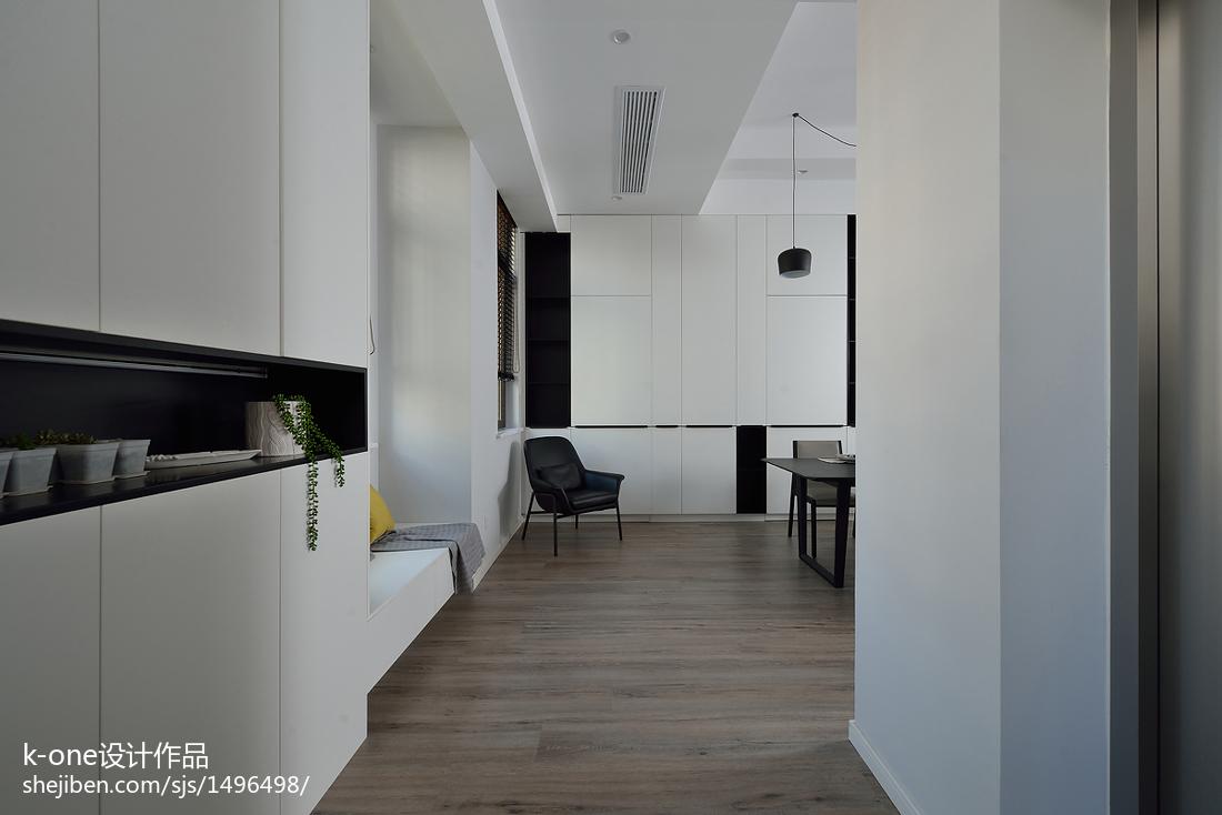 精选面积127平复式餐厅简约装修设计效果图片大全