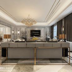 大小117平中式四居客厅装修设计效果图片欣赏