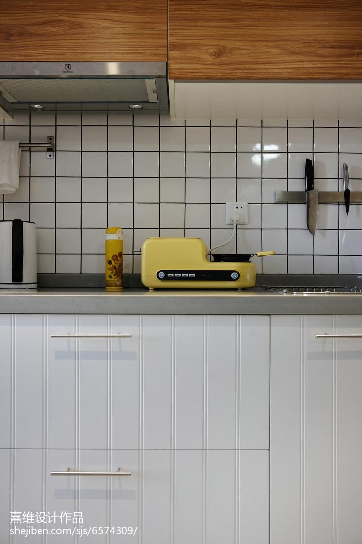 2018精选北欧小户型厨房装修效果图片欣赏