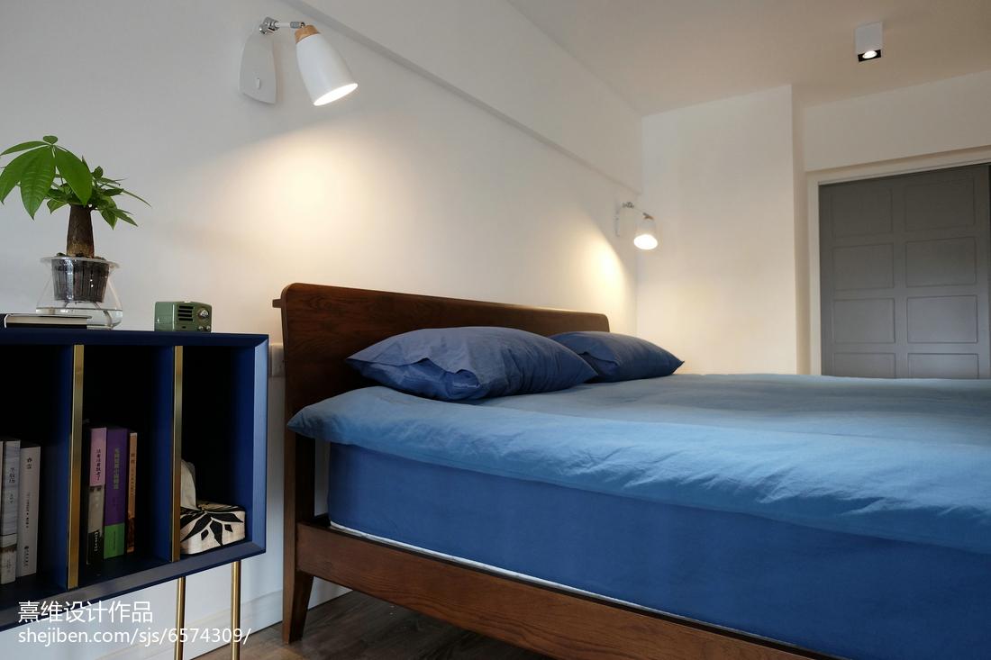 精选小户型卧室北欧实景图片欣赏