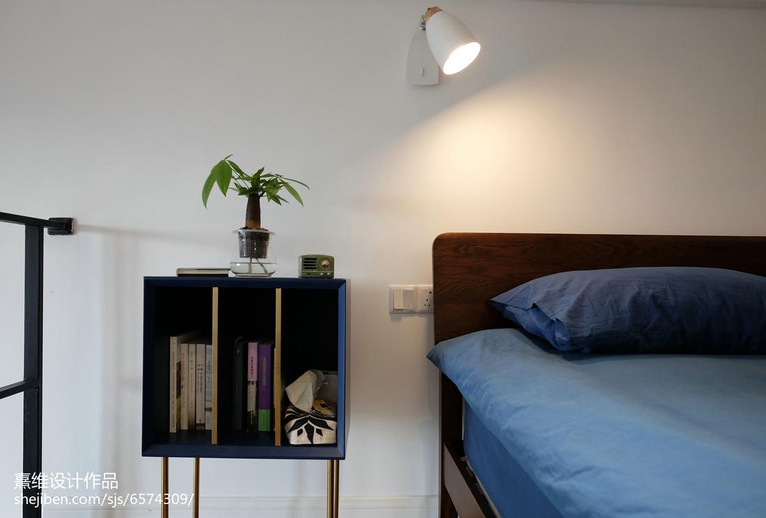 热门面积76平小户型卧室北欧设计效果图