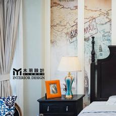 2018面积120平别墅卧室新古典装饰图