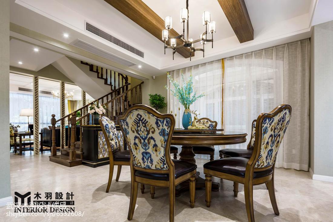 精选新古典别墅餐厅装修效果图片欣赏