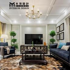 精美新古典别墅客厅实景图片大全