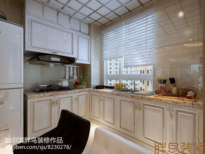 热门中式小户型厨房装修设计效果图