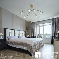 精美139平米四居卧室现代装修设计效果图片大全