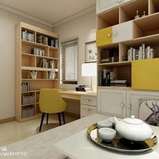精美90平米现代小户型书房装修图片欣赏