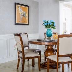 热门117平米四居餐厅美式装修设计效果图片欣赏